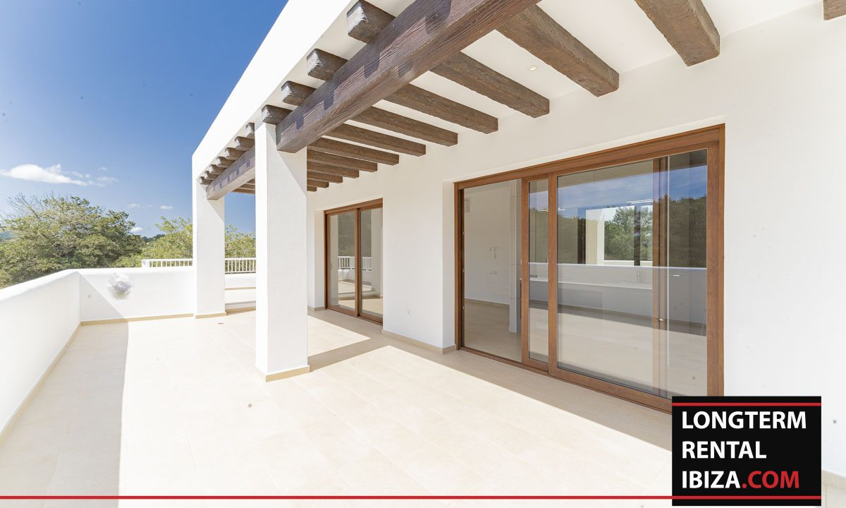 Long term rental ibiza - Villa Black 8