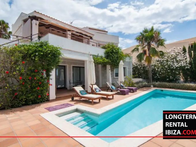 Long term rental ibiza - Villa Vista Talamanca